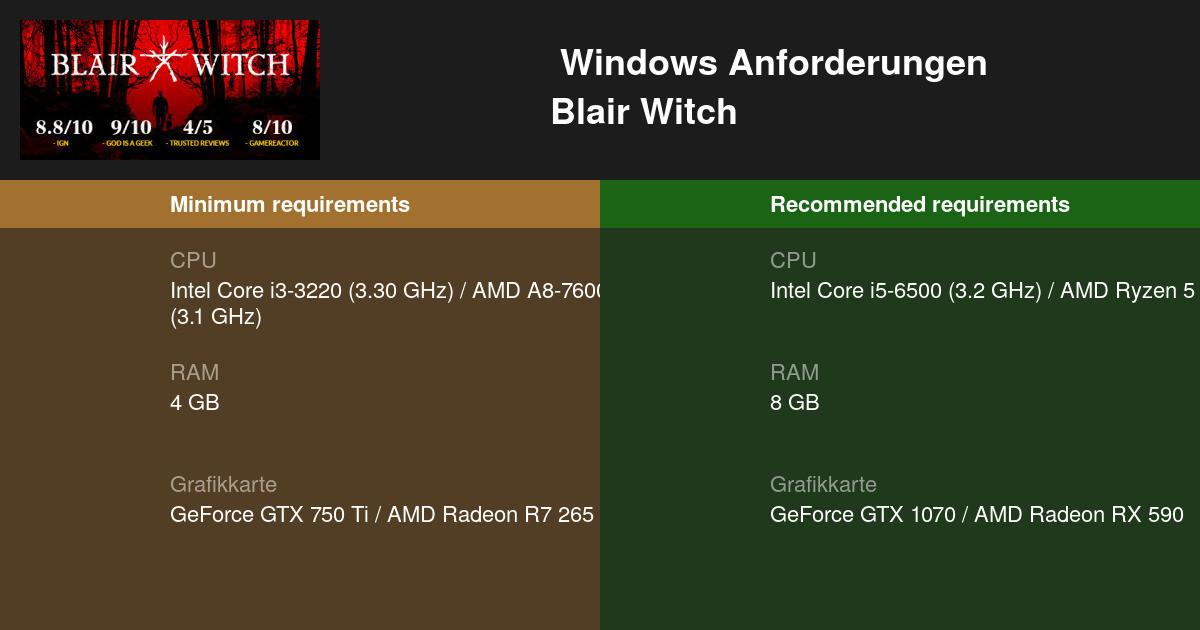 Blair Witch Stream 2021