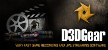 D3DGear - Game Recording and Streaming Software系统需求